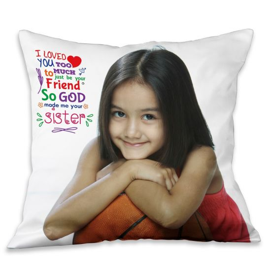 Customized Pillow For Sister - Ahmedabad