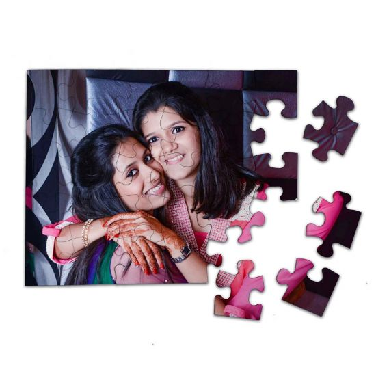 Cardboard Photo Jigsaw Puzzle - Ahmedabad
