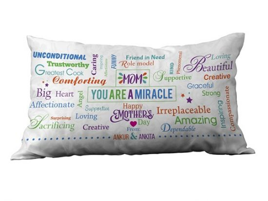 Personalized Pillows for mom, Ahmedabad.