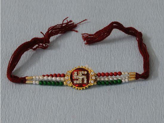 Swastik Designer Rakhi