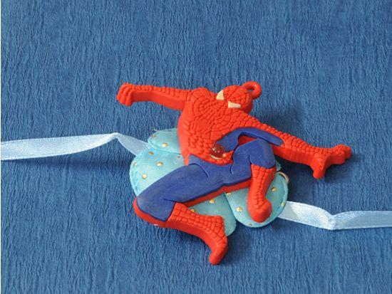 Blinking Spiderman Kid Rakhi