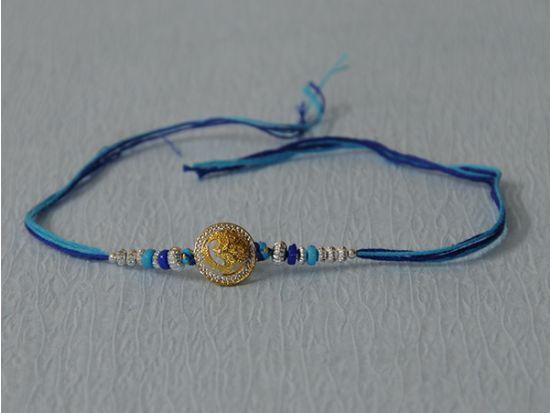 Blue Designer Rakhi.