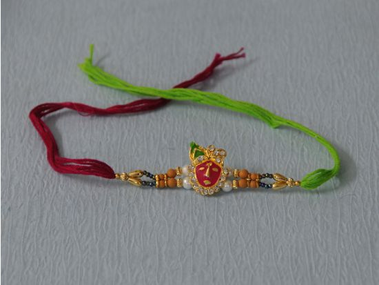 shreenathji with stone Rakhi