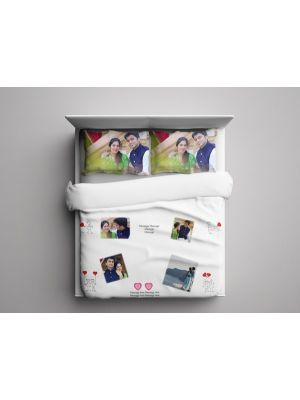 Personalized Bed Sheet ( Photos & Captions)