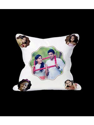 5 pic. Photo cushions (Zig-Zag Circle design)