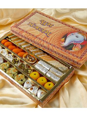Kaju sweets (mithai) in Ahmedabad.