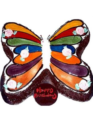 Butterfly Shape Cake.