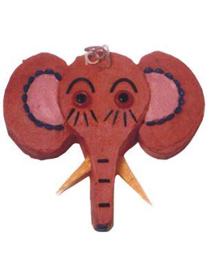 Elephant face shape cake