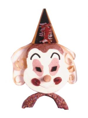 Clown shape Cake