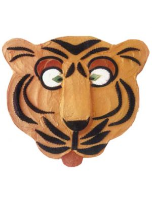 Tiger Shape Cake.