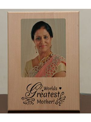 Print on wooden plaque, rajkot, Gujarat