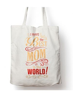 Tote Bag For Mom. Design - Best Mom