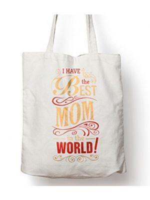 Tote Bag For Mom. Design - Best Mom