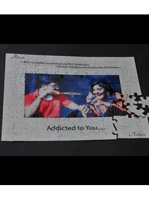 Rectangle Puzzle: (Design: Addicted to you..)