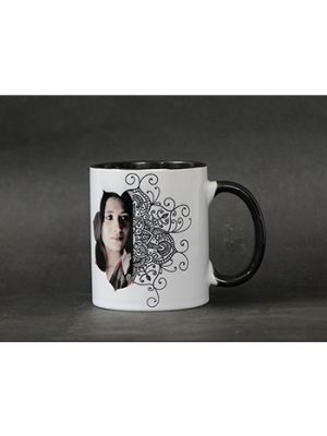 Color inside(Black) Mug