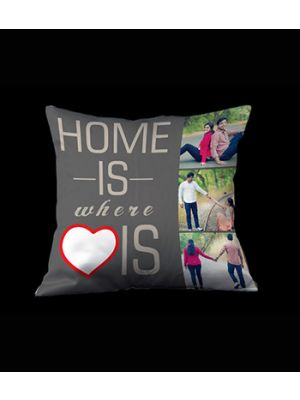 Home is where Love is pillow