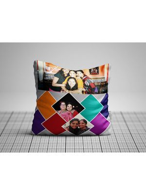 Photo collage cushion for Mom, Ahmedabad