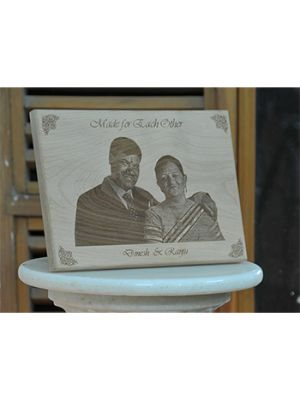 Made for Each Other Wooden Plaque
