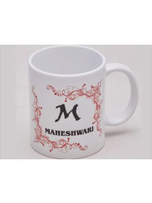 Name Mug With Red Border Design