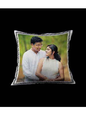 Photo cushion for couple