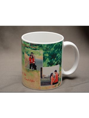 Photo mug - 3 Pics