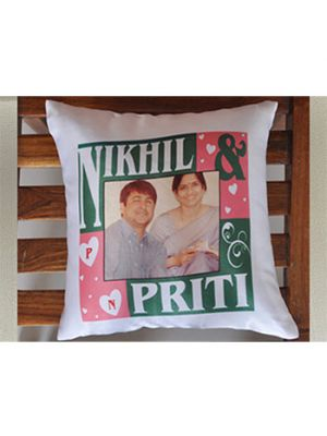 Personalised Photo Cushions with frame design