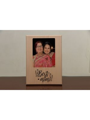 Engraved Photo Plaque: World's Greatest Mom