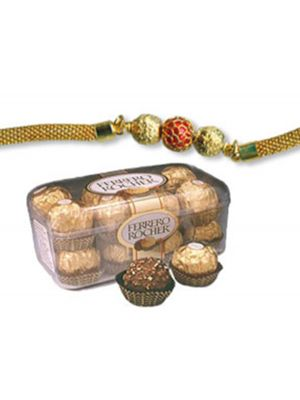 Gift rakhi hamper for brother in Rajkot.