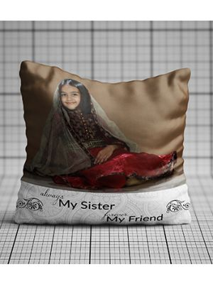 Personalized photo pillow (Little Sis)