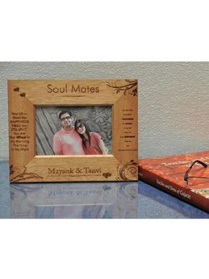 wooden frame : Soul mates Design