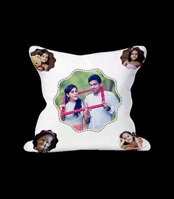 5 pic. Photo cushions (Zig-Zag Circle design)