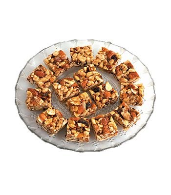 Dry fruit chikki in Ahmedabad.