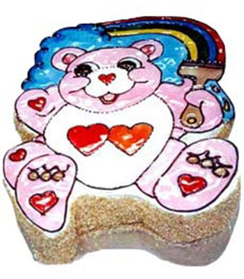 Teddy Shape Cake for kids in Ahmedabad.