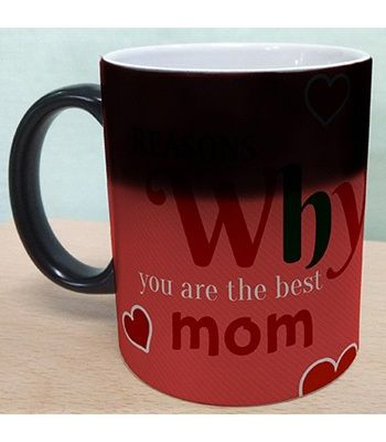 Black magic mug , customized for mom- Ahmedabad