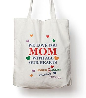 Tote bags customized for mom, Ahmedabad