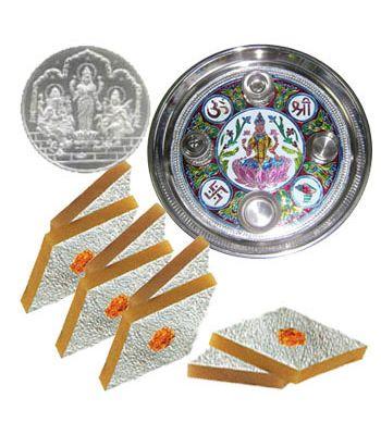 Bhai dooj hampers in Ahmedabad. Chocolates, coins , Mugs