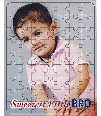 Wooden Puzzle ( Little BRO )