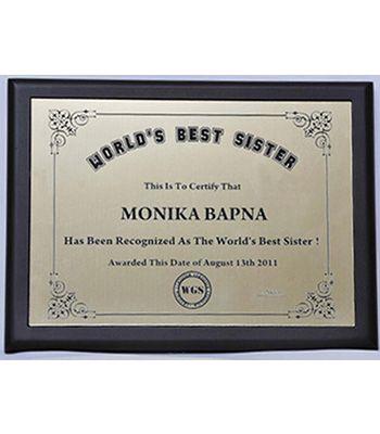 World Best Sister