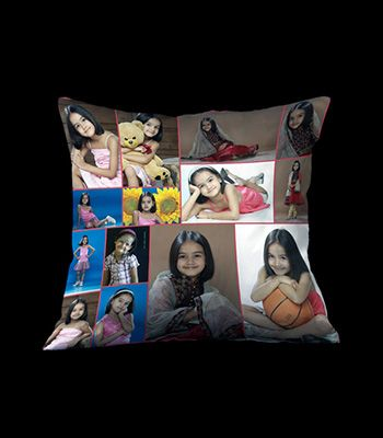personalize photo collage cushions in bangalore quick print and