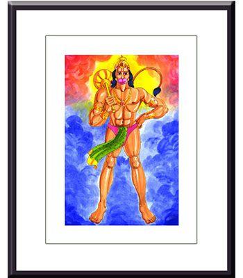 Frame: Hanumanji