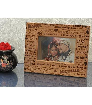 LOVE HUGS & KISSES FRAME