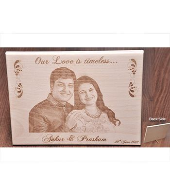 Our Love Is Timeless wooden Plaque
