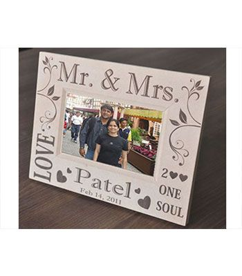 Photo Frame (Mr. & Mrs. Design)