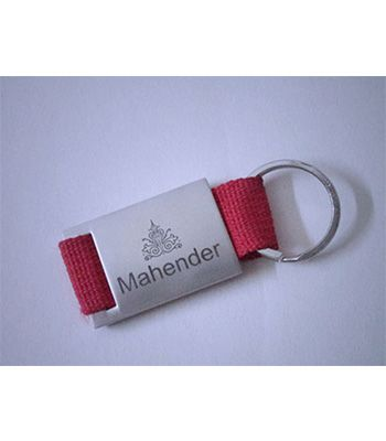 SS Keychain Red