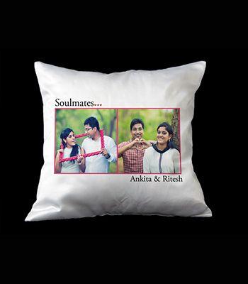 Soulmates photo pillow