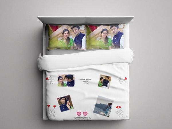 Good Personalized Bed Sheet ( Photos U0026 Captions)
