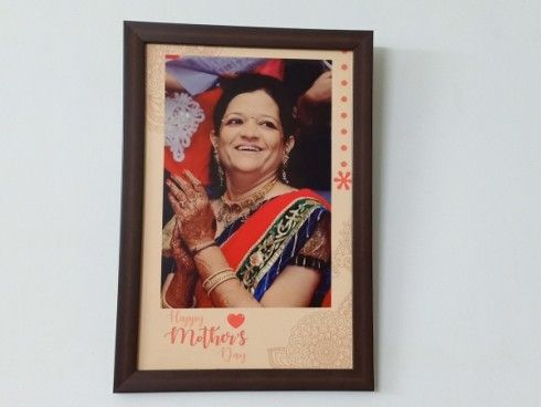 Mothers Day Personalized Frame Ahmedabad Baroda