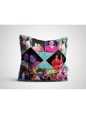 Collage Cushion for grandmom, Ahmedabad.