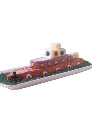 Ship Shape Cake
