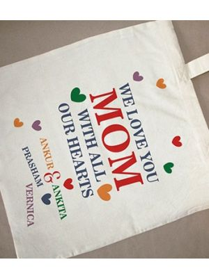 Personalized bags for mother, baroda, surat